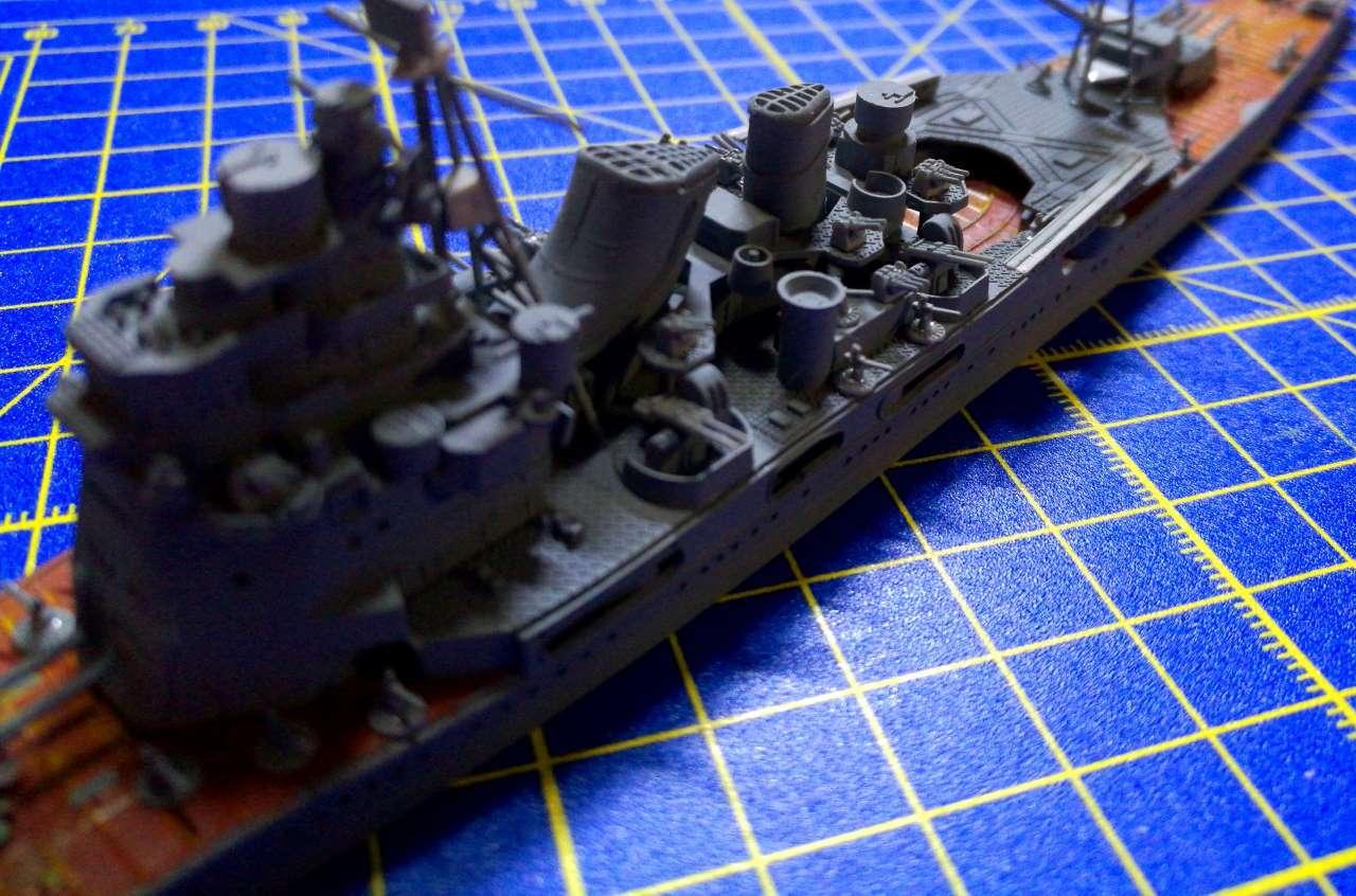 Croiseur TAKAO 1944 1/700 Pit-Road 363099Takao32