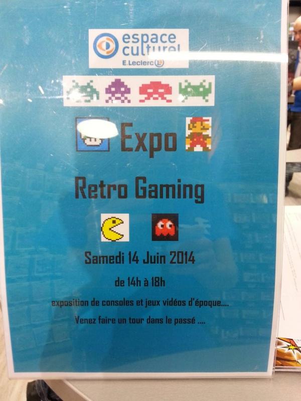 Rétro Gaming Show de Bourgoin Jallieu à L'Espace Culturel E.Leclerc 364396104573442615855606938151975456195o