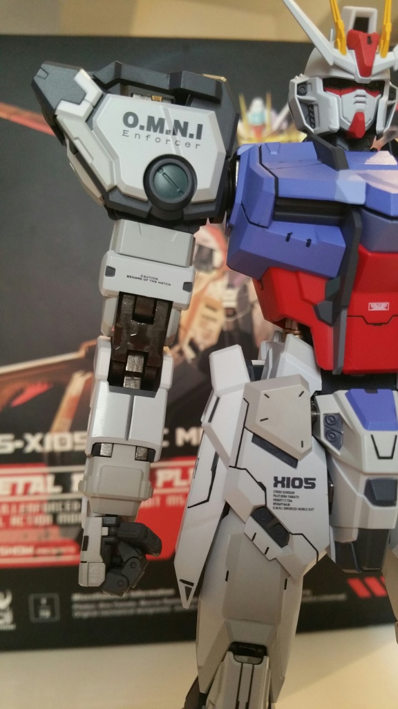 Review/Edito : Strike Gundam Metal Build 1/72 by Moshow la leçon Chinoise donnée a Bandai  364575201610061414011