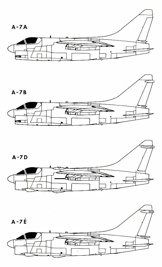 MCDONNELL-DOUGLAS F/A-18 HORNET  364773A_7_Corsair_II_1