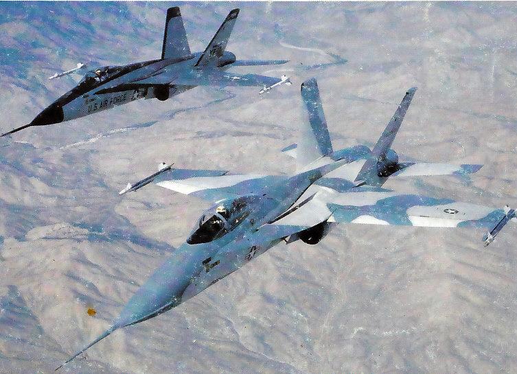 MCDONNELL-DOUGLAS F/A-18 HORNET  364838Northrop_YF_17_3