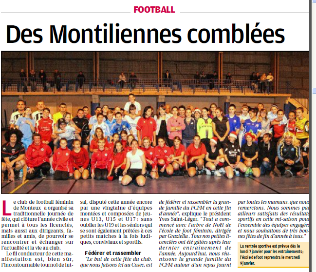 Football Club Féminin Monteux Vaucluse et Monteux foot seniors et jeunes  368666701