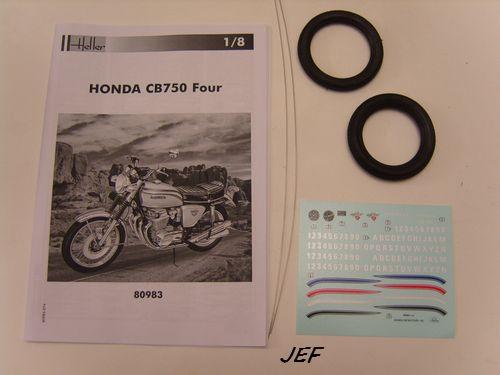 HONDA 750 CB FOUR 1/8ème Réf 80983 368713HON002