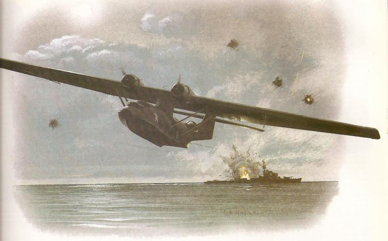 CONSOLIDATED PBY CATALINA  369939CatalinaBlackCatSquadron