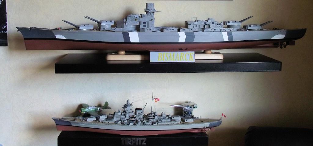 Bismarck Trumpeter 1x200 avec PE et figurines Eduard 370488Bismarck1x20047