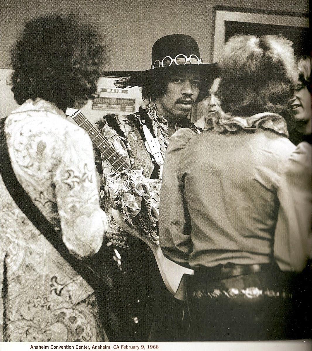 Anaheim (Convention Center) : 9 février 1968  37114819680209AnaheimConventionCenter