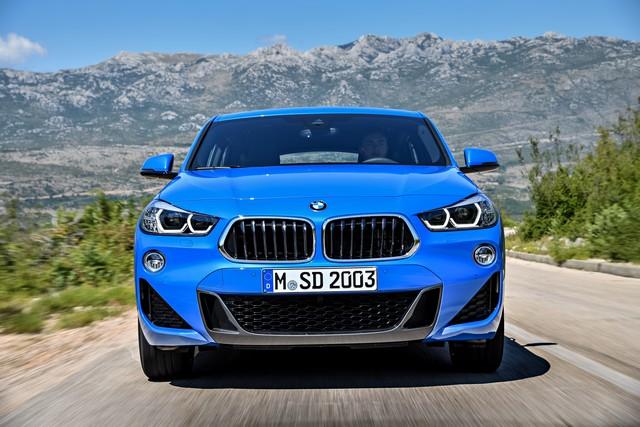 La nouvelle BMW X2 Silhouette élégante, dynamique exceptionnelle 375348P90278923highResthebrandnewbmwx2