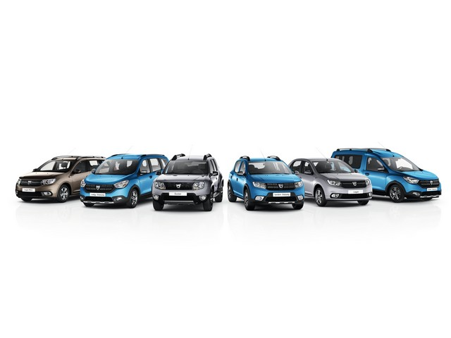 L'ensemble de la gamme Dacia disponible en GPL en France 3768469354416