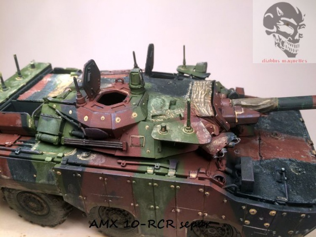 AMX 10 RCR SEPAR maquette Tiger Model 1/35 - Page 2 378613IMG3817