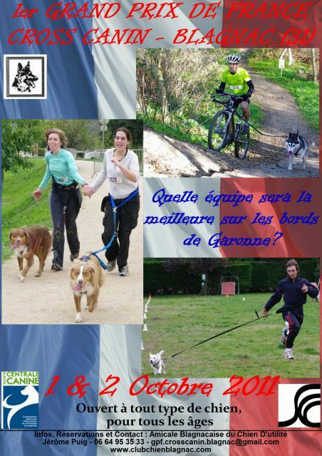 Cross-canin, CaniVTT, CaniMarche et RapidCani - BLAGNAC (31) - 01 & 02 octobre 2011. 378889afficheGPF21