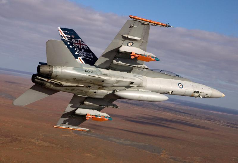 MCDONNELL-DOUGLAS F/A-18 HORNET  380452F18_australien