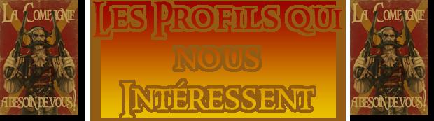 Stipulations d'Enrôlement 381652Recrutement2profil