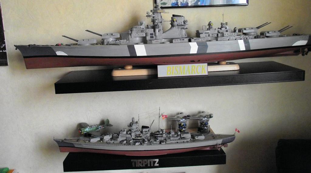 Bismarck Trumpeter 1x200 avec PE et figurines Eduard 381789Bismarck1x20079