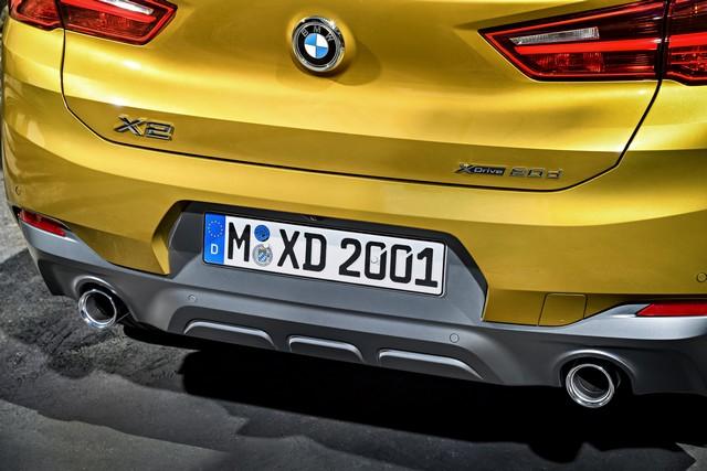 La nouvelle BMW X2 Silhouette élégante, dynamique exceptionnelle 381789P90278967highResthebrandnewbmwx2