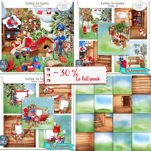 Collection Letter to Santa de Kastagnette + Mega Kit Freebie 383336662