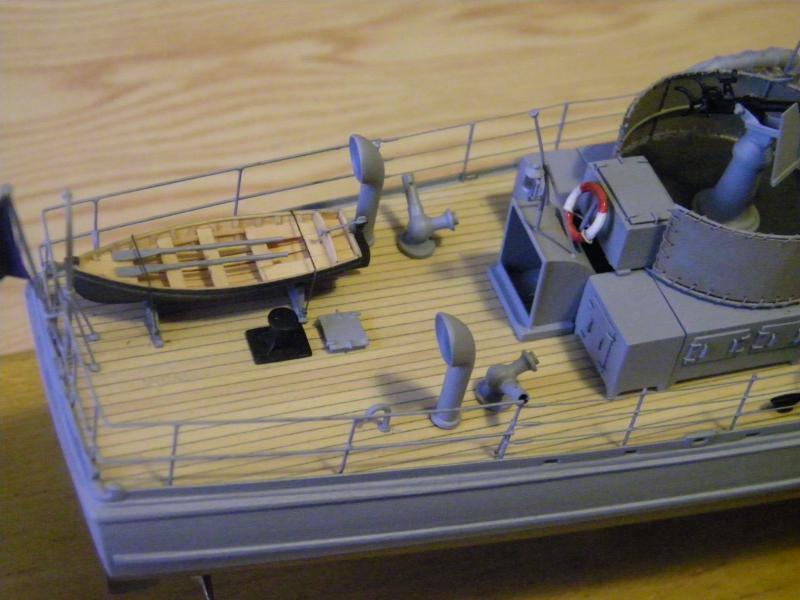 Chasseur de sous-marin CH 123 au 1/100e sur plan 3838201001754
