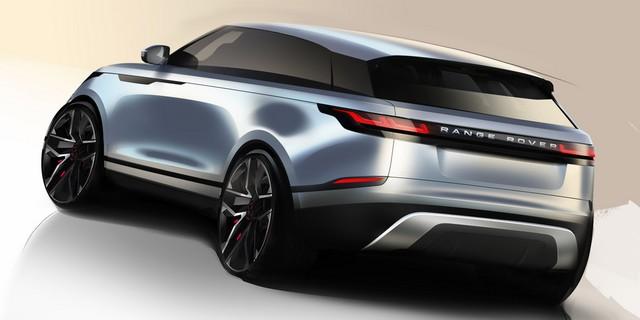 Première mondiale : Le nouveau Range Rover Velar dévoilé au Design Museum de Londres 383832rrvelardesignsketch01031702