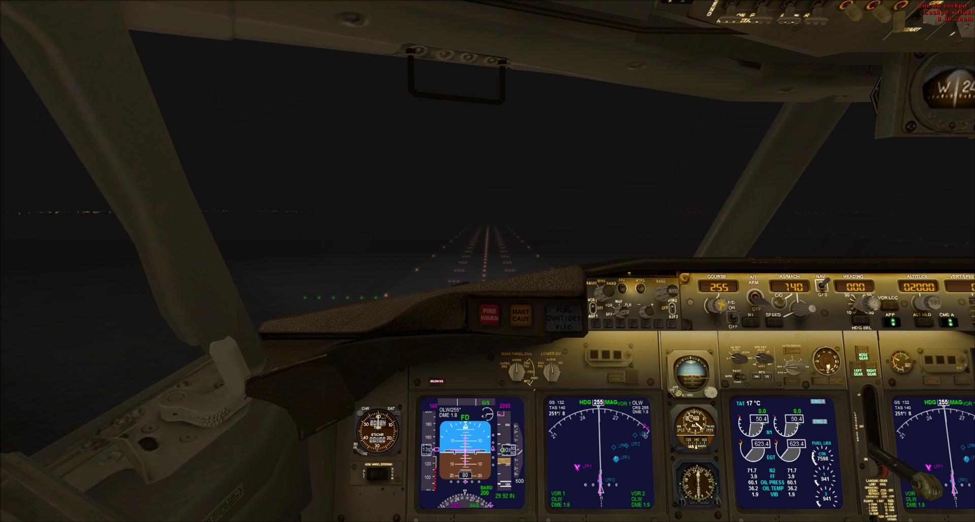 Rapport de vol: Atterrissage aux instruments 38442020141031211912455