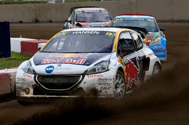 Troisième podium d'affilée pour Sébastien Loeb et la PEUGEOT 208 WRX, au Canada 3846745986823642f7dzoom