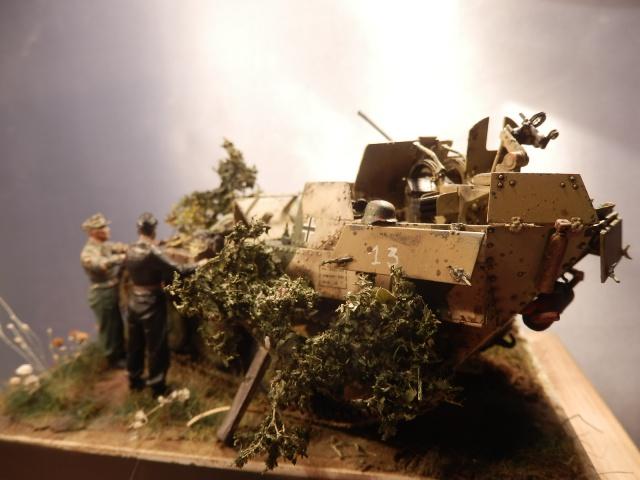 sd.kfz 140 flakpanzer (gépard) maquette Tristar 1/35 - Page 3 386270P8310017