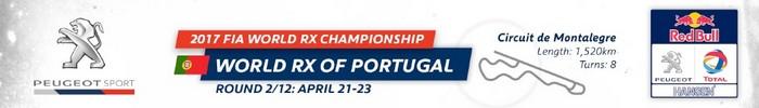 Sébastien Loeb et la PEUGEOT 208 WRX décrochent une belle deuxième place à Montalegre 387006worldrxofportugal