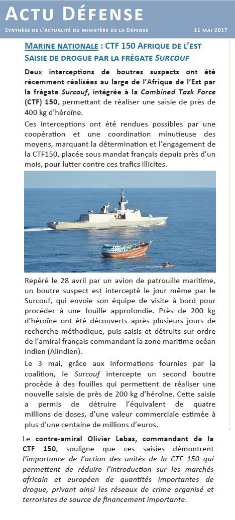 SURCOUF F711 (FREGATE) - Page 2 387141Actu