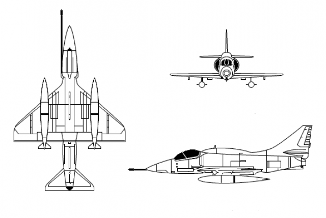 MCDONNELL-DOUGLAS F/A-18 HORNET  387398Douglas_Skyhawk_CT