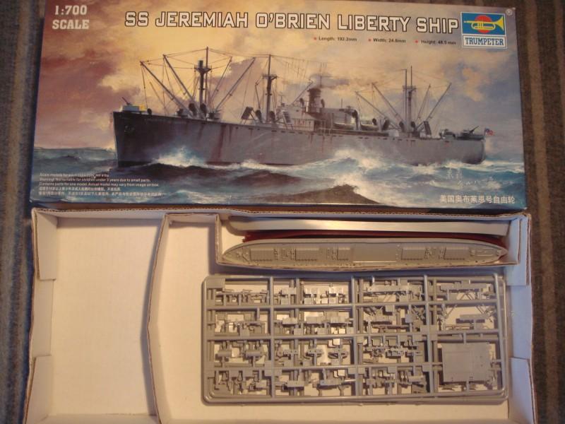 Le SS jeremiah o'brien liberty ship au 1/700 Trumpeter 387760liberty00