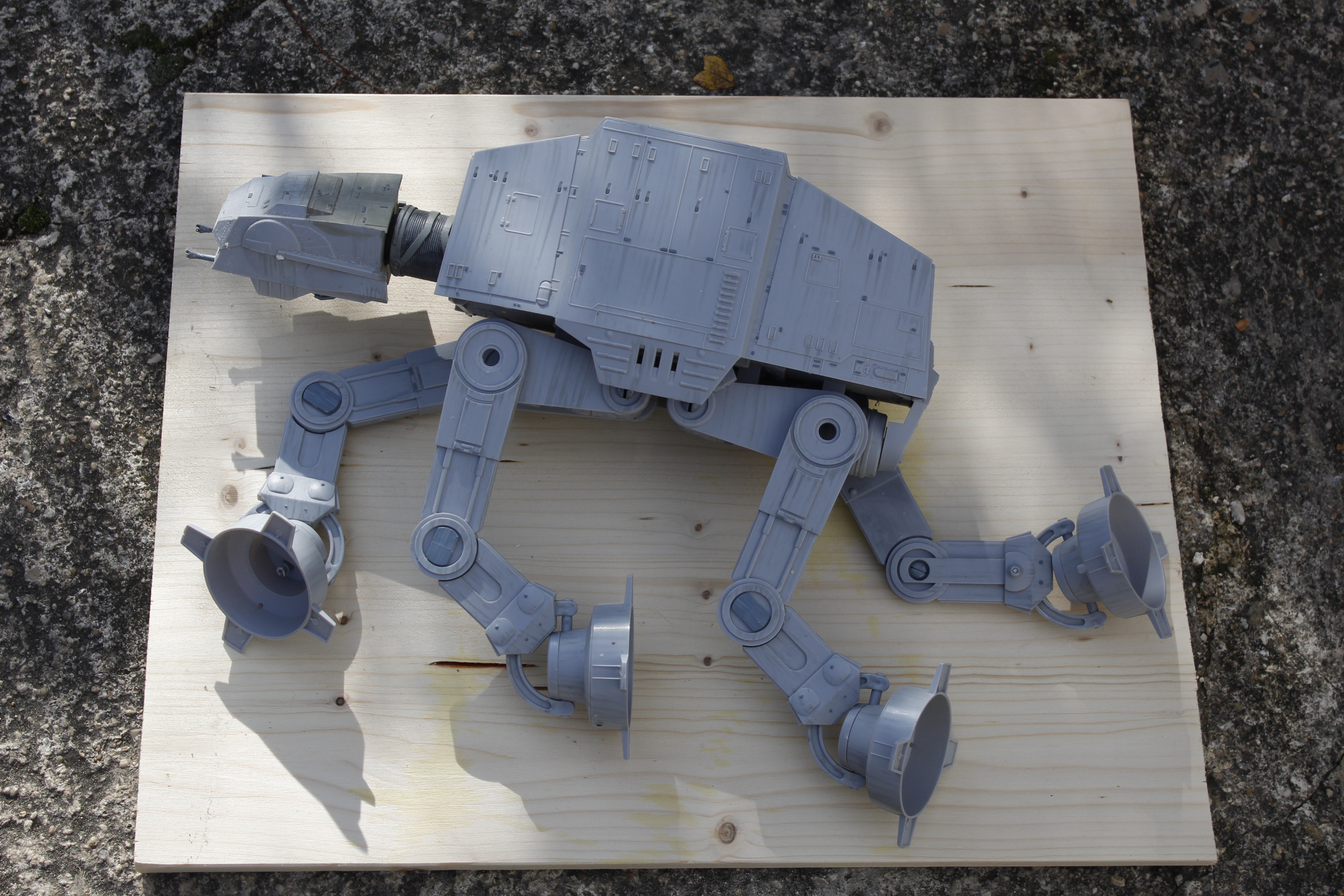 STAR WARS : Epave AT-AT sur Endor 387978MG3515