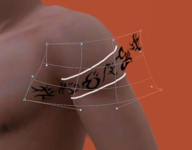 [Intermédiaire] Intégrer un tatouage sur un Sim 388369004