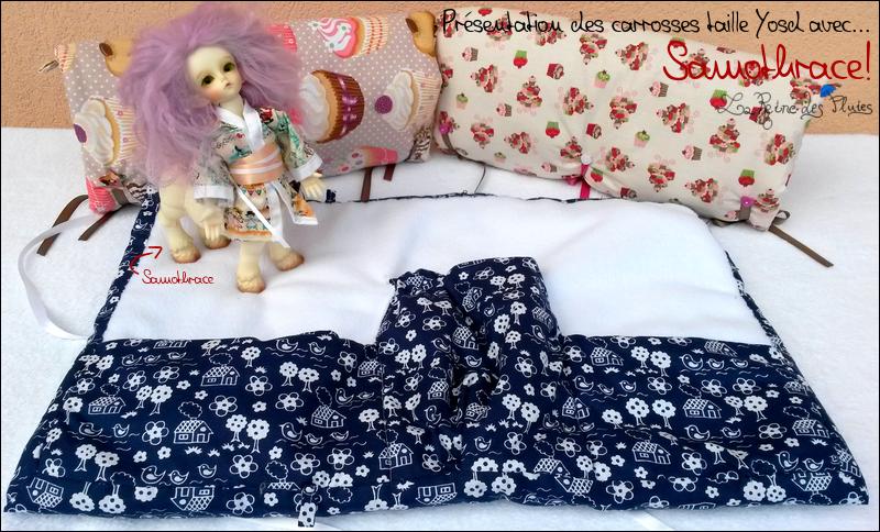 La Reine des Pluies: Carrosses pour dolls:tissus little doll 391470prsentation