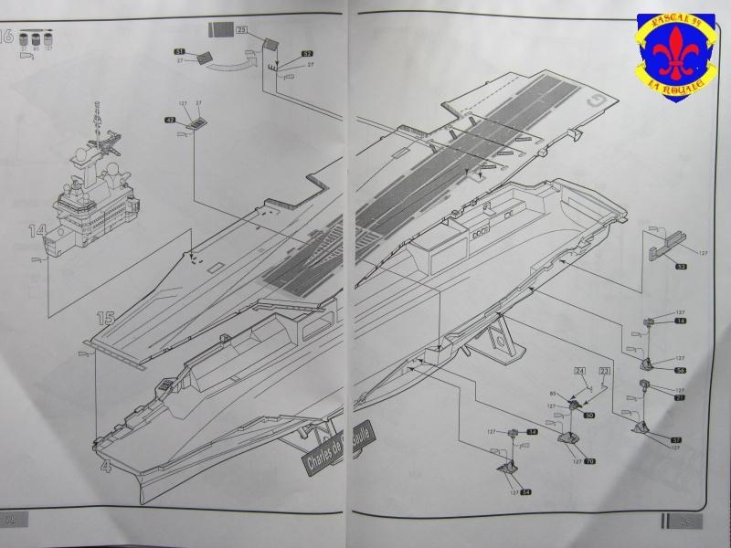 Porte avions Charles De Gaulle au 1/400 d'Heller 392836IMG25261