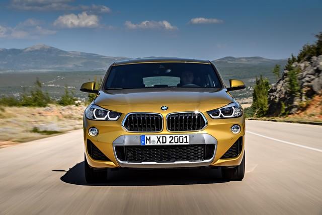 La nouvelle BMW X2 Silhouette élégante, dynamique exceptionnelle 393191P90278983highResthebrandnewbmwx2