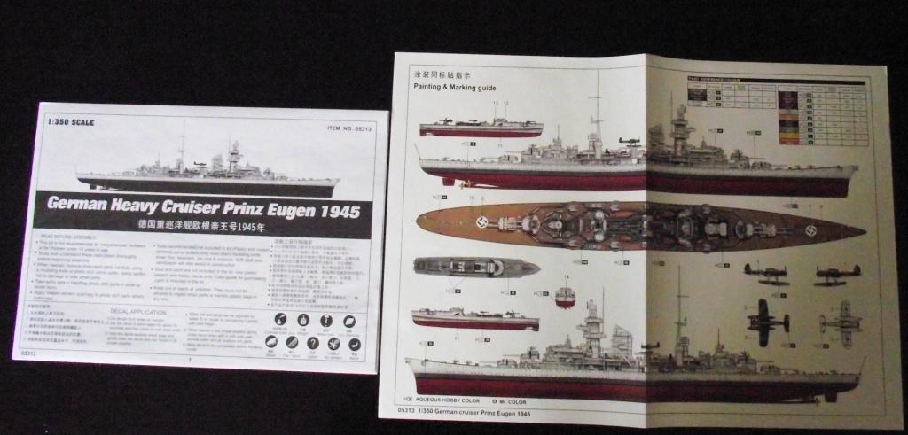 Prinz Eugen Trumpetter 1x350 avec PE Eduard 394011PrinzEugen1x3502