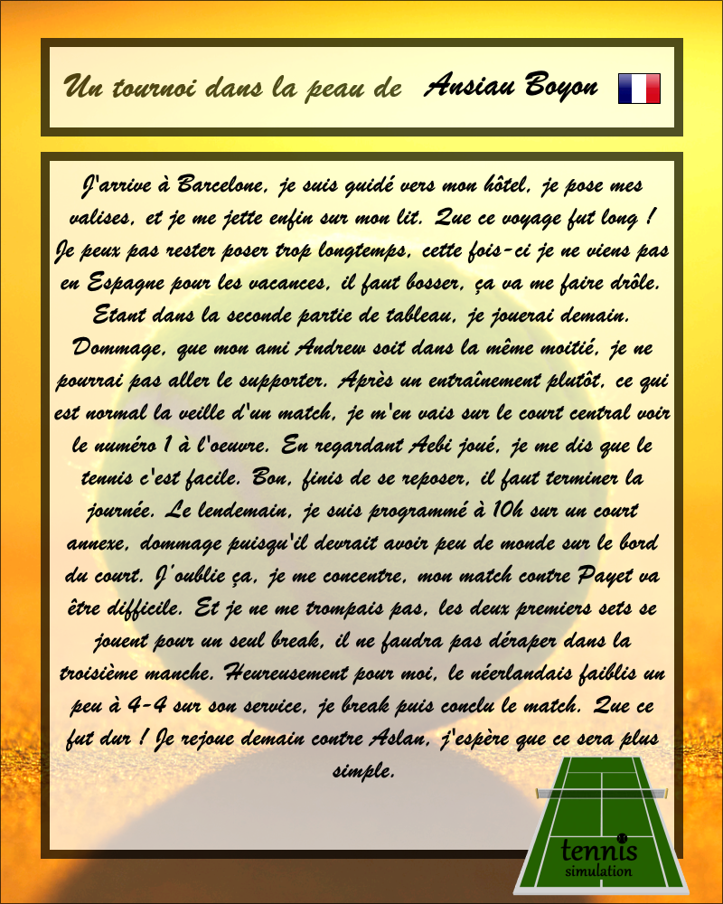 [*************] Tennis Simulation [S2] - Page 58 395614BA1