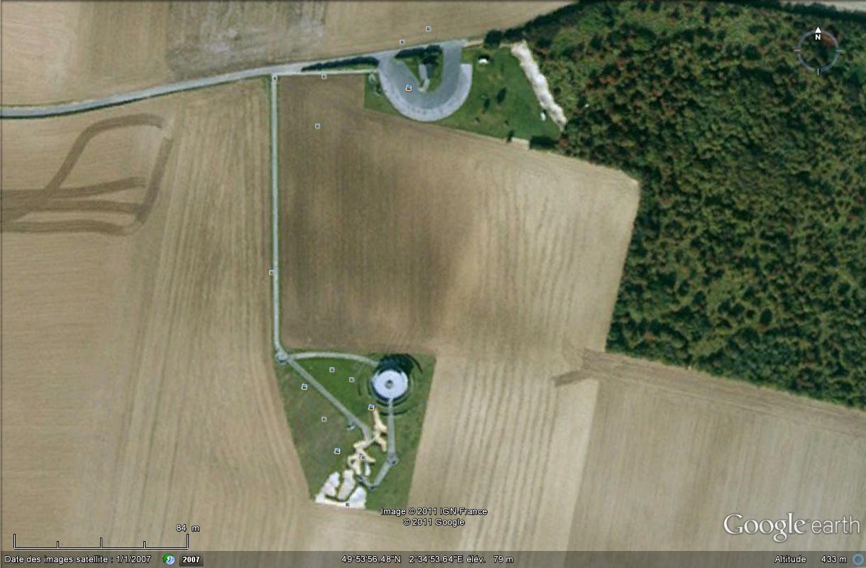 A la découverte des mémoriaux et cimetières militaires 396666MmorialAustralienleHamelSomme