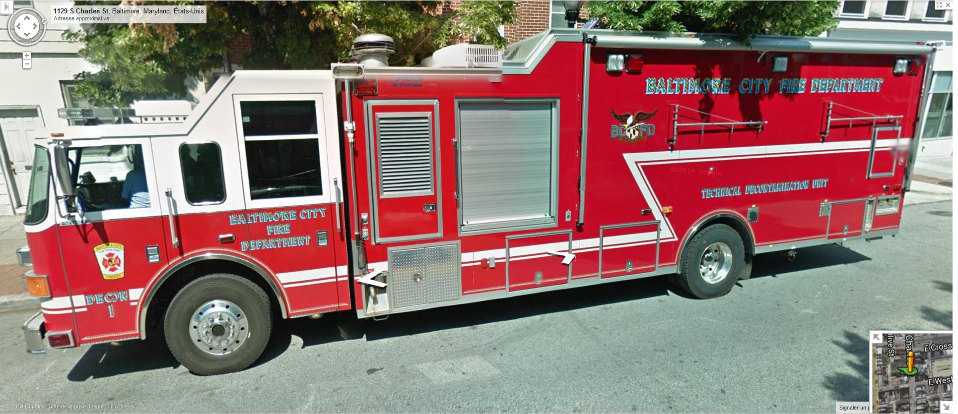 STREET VIEW : les camions de pompiers  - Page 6 397626Baltimorepompiers2
