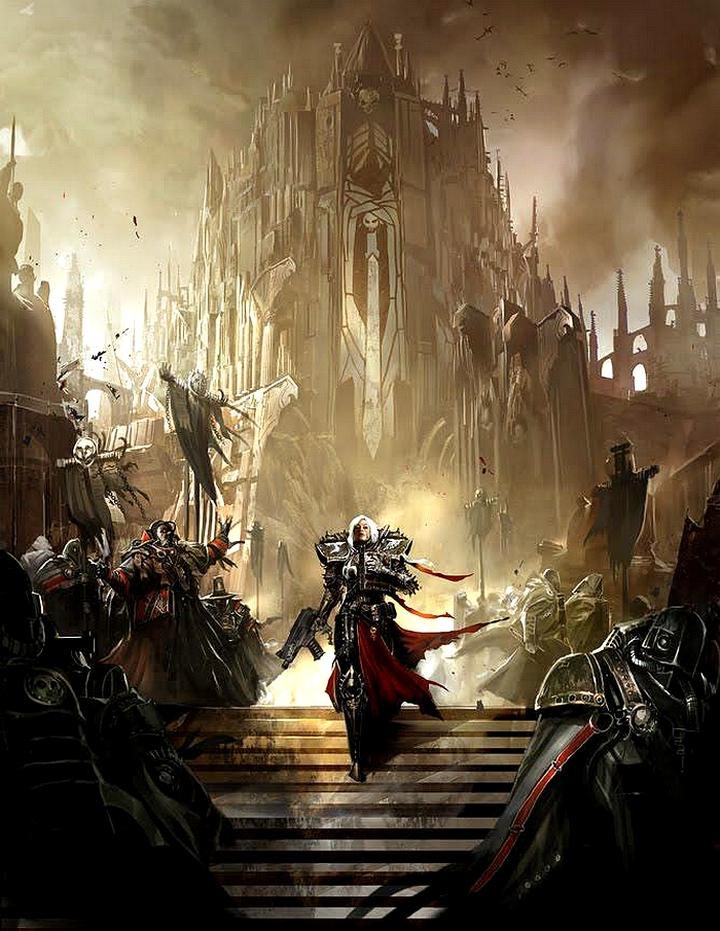 [W40K] Collection d'images : Inquisition/Chevaliers Gris/Sœurs de Bataille 398708sisterofmercy
