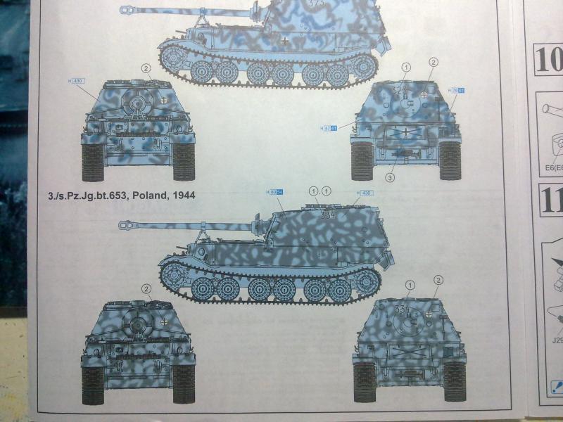 sd.kfz.184 Elefant au 1/35 de Dragon 399223301220101010