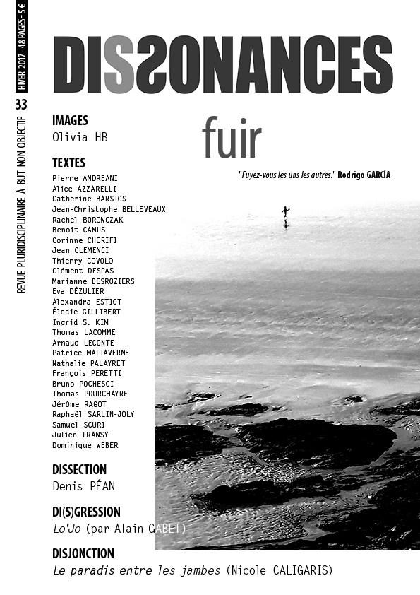 Fuir [Revue Dissonances] 402394couv33