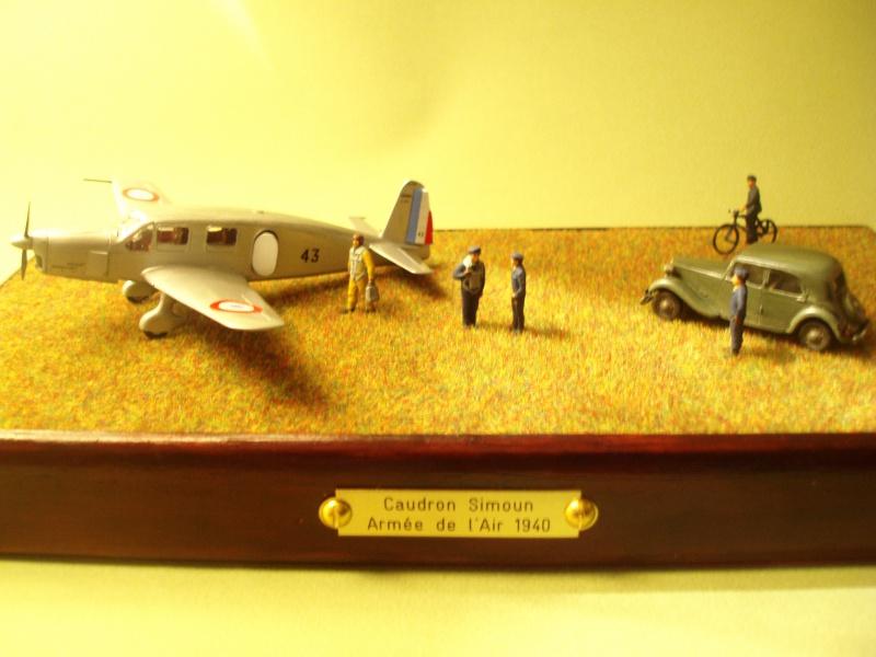 Diorama Caudron Simoun Armée de l'Air! 402462P1010346