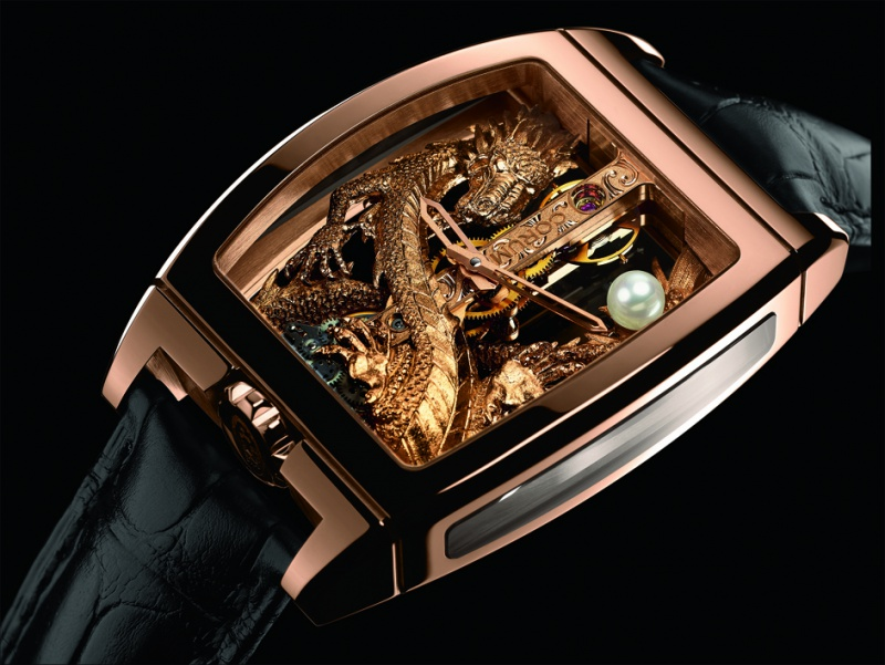 corum - CORUM GOLDEN BRIDGE 4031871GoldenBridgeDragon