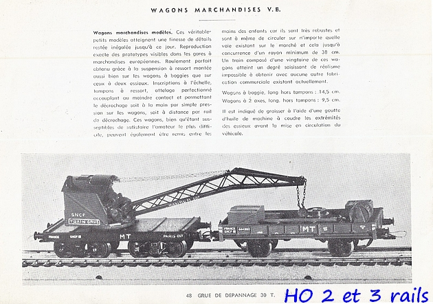 Catalogues 1950 et 1954 couverture photo (extraits) 404197VBcatalogue19542R