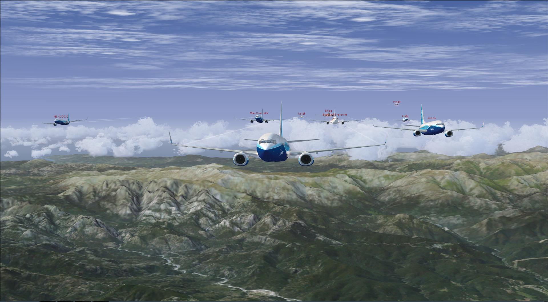 Compte rendu de ce vol patrouille en linear super vol du 23 10 2014 en 737 40521720141023211557959