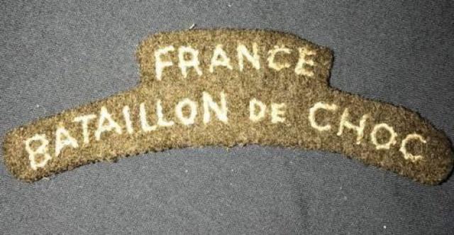 LES INSIGNES DU BATAILLON DE CHOC 1943/1963. - Page 3 405914223