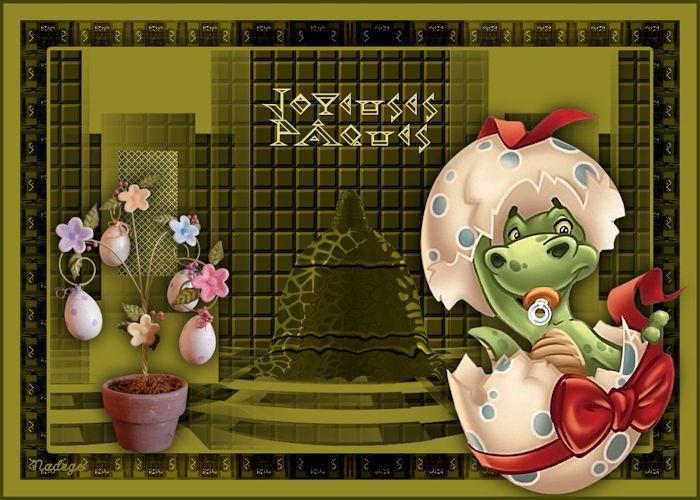 Ma cloche de Pâques ¤ tutoriel de Vérorêves ¤ 407797joyeusespaques