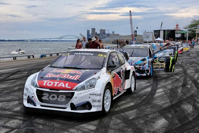 Troisième podium d'affilée pour Sébastien Loeb et la PEUGEOT 208 WRX, au Canada 41031959853f4388ccczoom