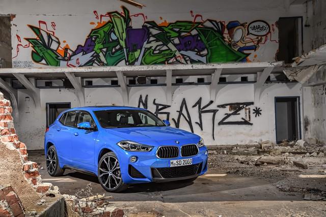 La nouvelle BMW X2 Silhouette élégante, dynamique exceptionnelle 410535P90278940highResthebrandnewbmwx2