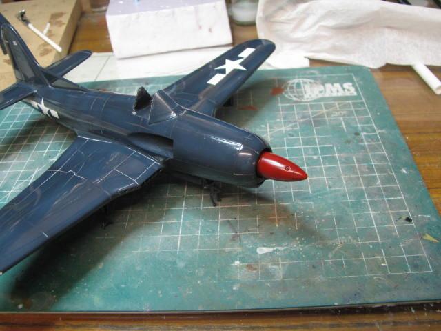 Ryan XF2R-1 Dark Shark Czech Model 1/48.....Terminé! - Page 4 410675IMG1301