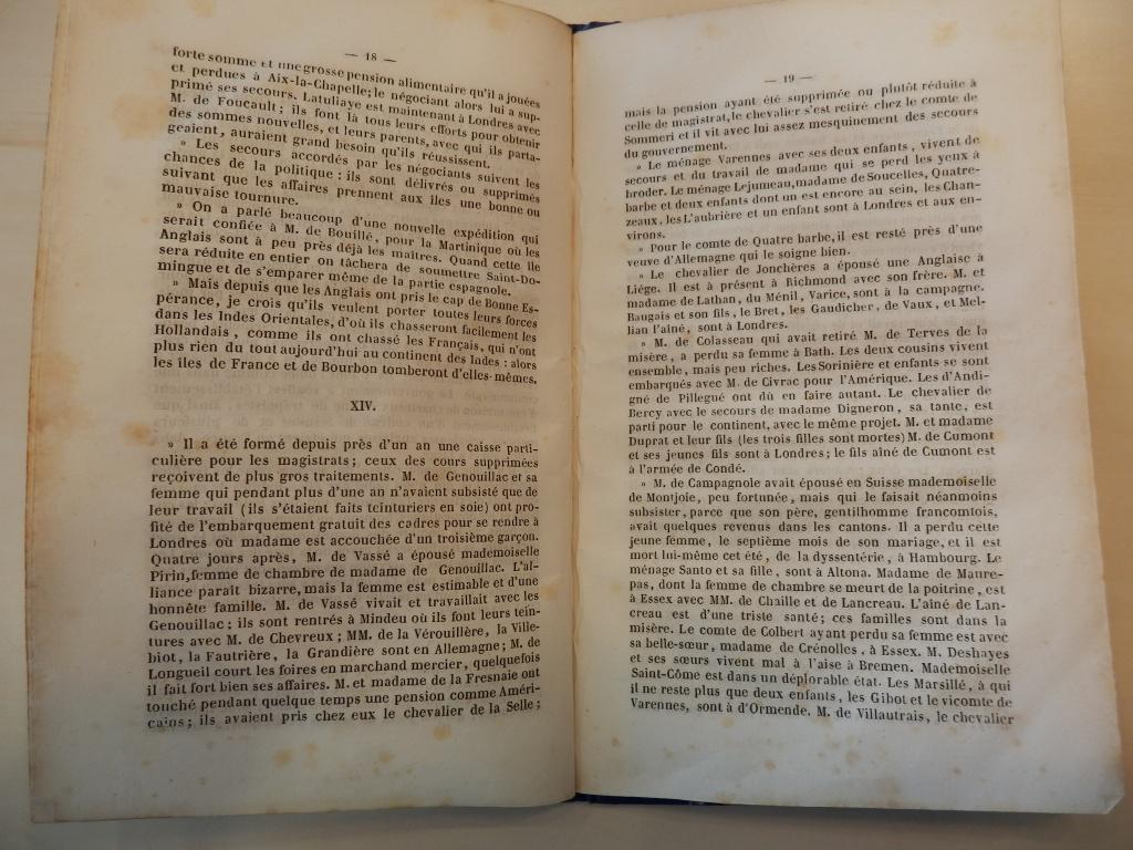 L'émigration Angevine par F. Grille - 1840 - partie 3 411240P6300721